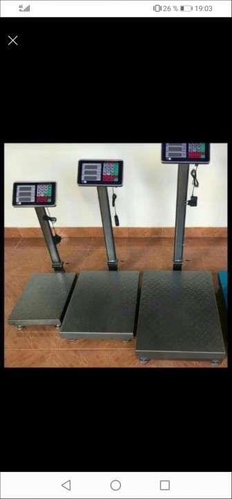 Balanza electrónica de 500 kilos - 2