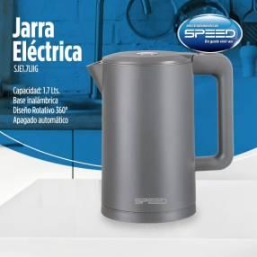 Jarra eléctrica Speed 1.7L color gris