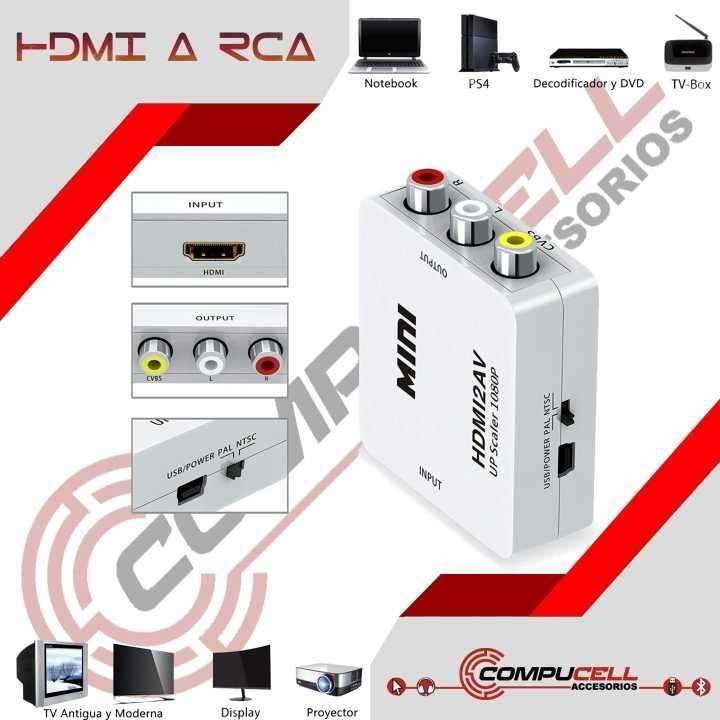 Adaptador HDMI a RCA - 0