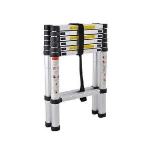 Escalera Telescópica Articulada Alustep Aluminio 6 peldaños 3,8m - 0