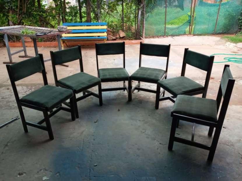 Juego de 6 sillas para comedor - 1