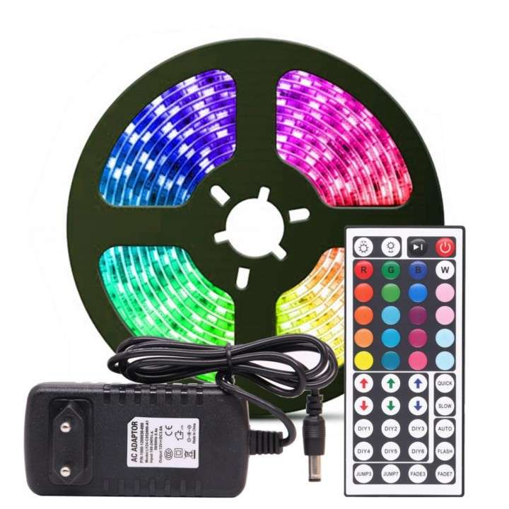 Tira de luces LED 5m RGB - 0