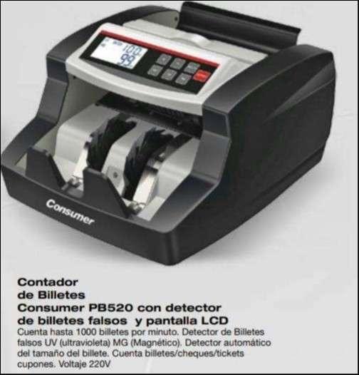 Contador Consumer de billetes Probank PB520 - 1