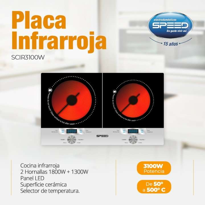 Placa infrarroja Speed - 0