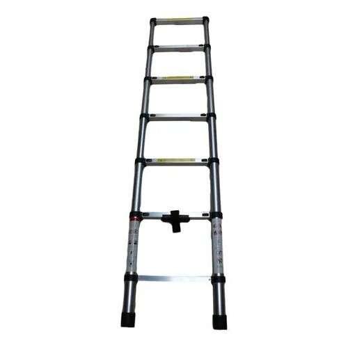 Escalera Telescópica Articulada Alustep Aluminio 6 peldaños 3,8m - 2