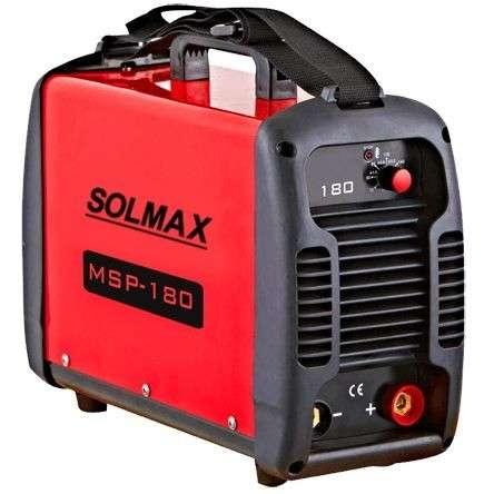 Soldador Inverter Solmax 180 Amp - 0