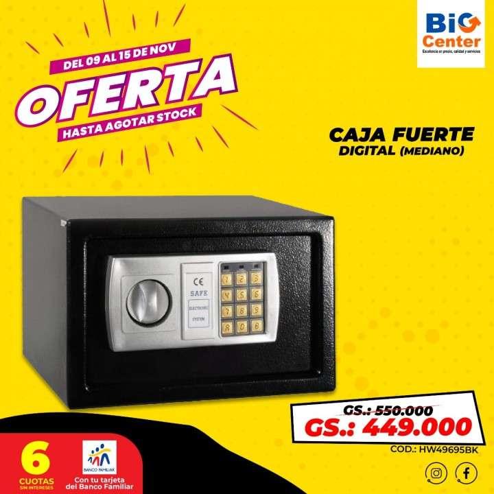 Caja fuerte con teclado digital - 0