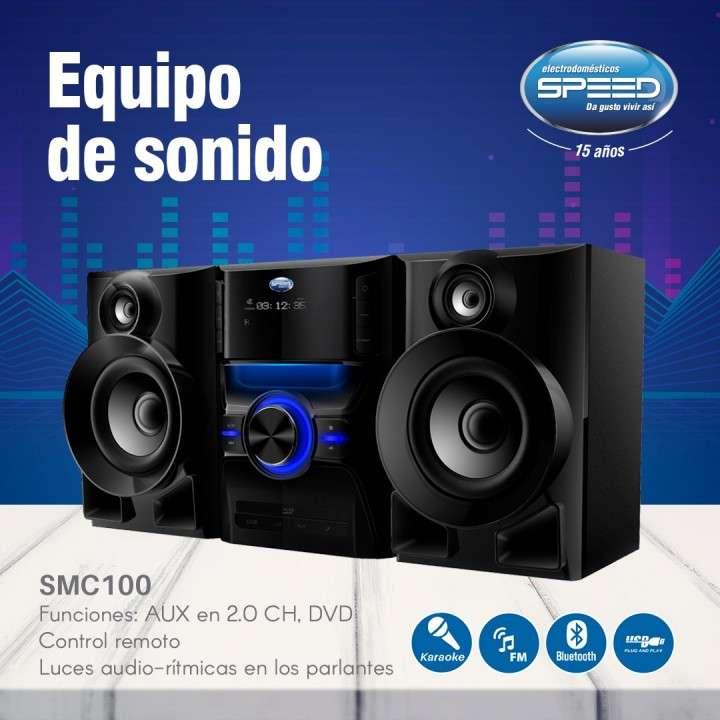 Equipo de sonido Speed 800W 2.0CH DVD USB Bluetooth - 0