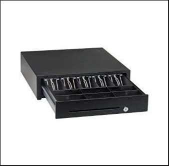 Caja registradora para dinero 5 compartimientos SCMDN - 1