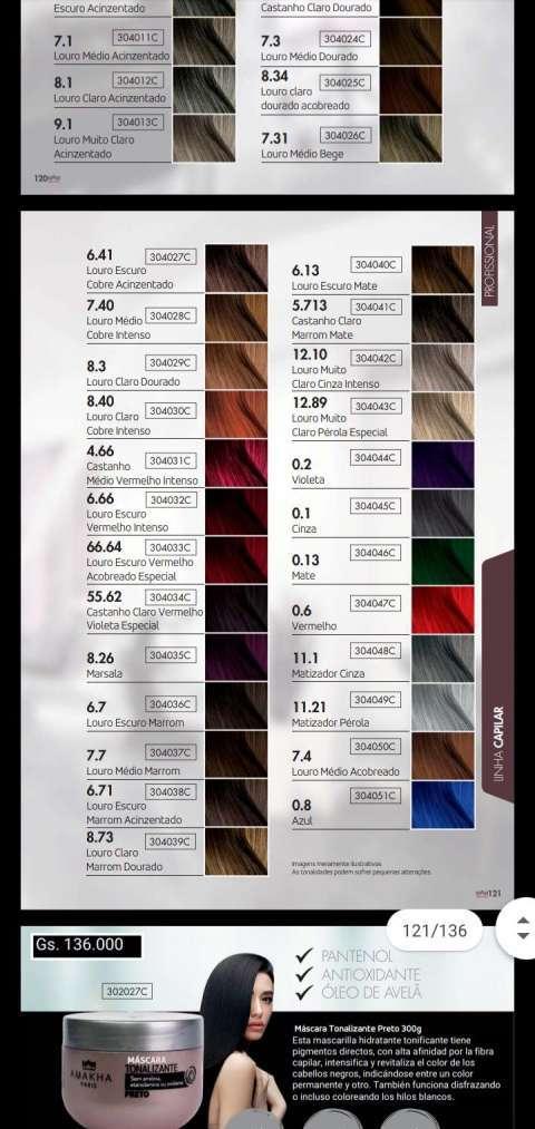 Tintes para uso profesional - 2