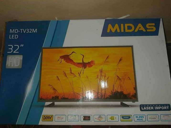 TV LED Midas de 32 pulgadas + TV Box - 0