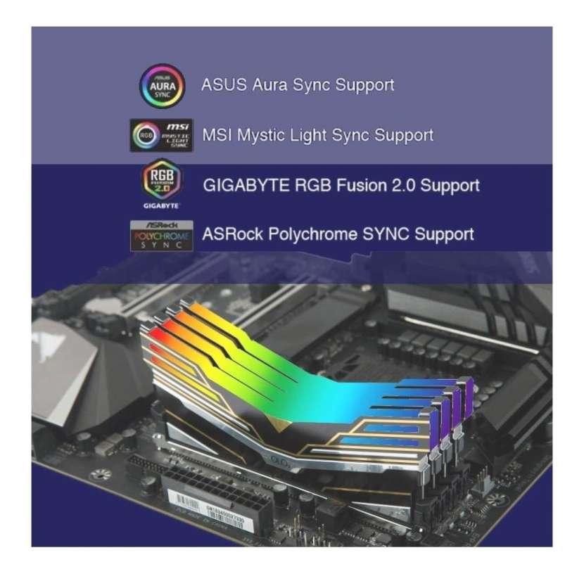 DDR4 16 GB RAM 2x8 RGB - 2