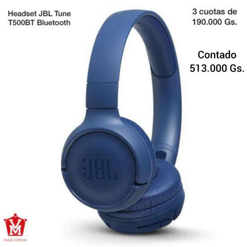 Headset JBL Tune Azul - 0