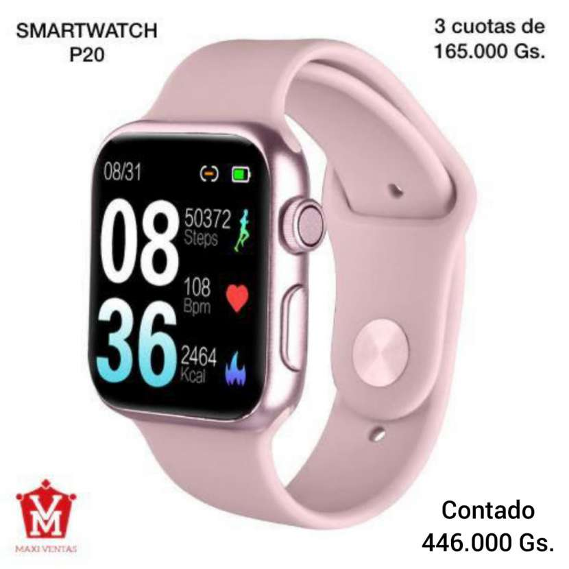 Smartwatch P20 Rosa - 0