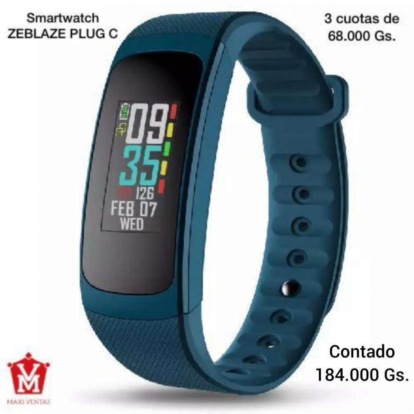 Smartwatch Zeblaze Azul - 0