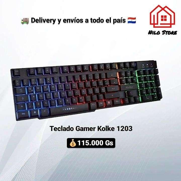 Teclado gamer Kolke 1203 - 0