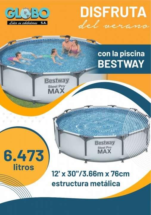 Piscina Bestway 6,473L 56416 12x30 3.66mx76 cm - 0