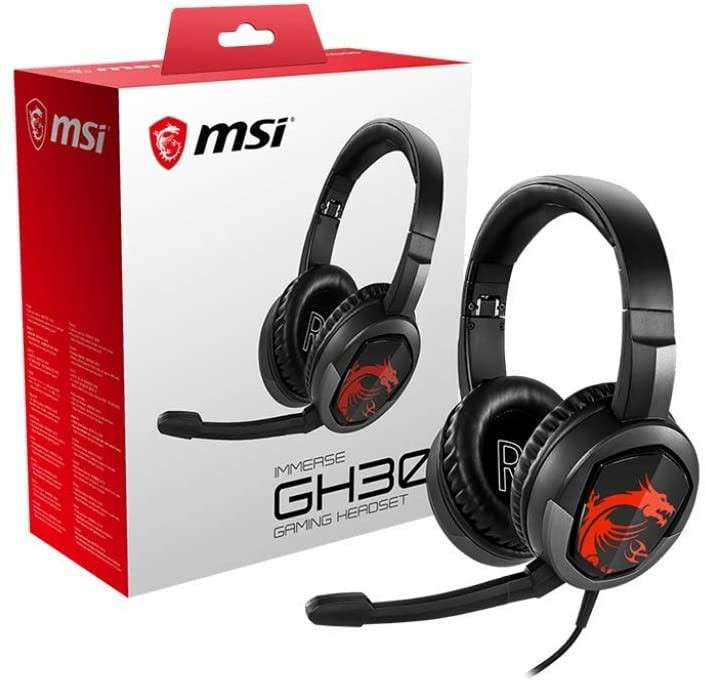 Auricular gaming MSI DS502 - 0