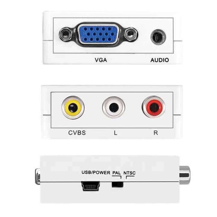 Adaptador VGA a RCA o AV - 2