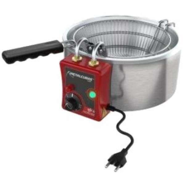 Freidora eléctrica 7L Metalcubas - 0