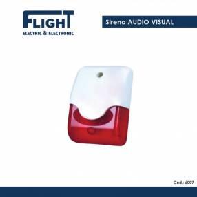 Sirena Audio Visual Flight COD. 6007