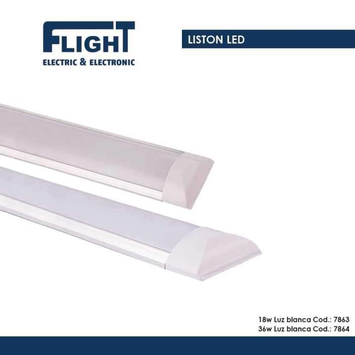 Plafón con tubo LED 18W - 0