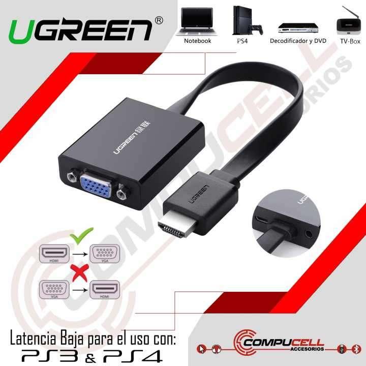 Adaptador HDMI a VGA Ugreen - 0