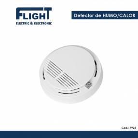 Detector de humo calor autónomo cod 7924