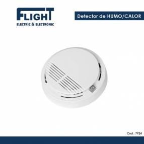 Detector humo/calor cableado COD. 7962
