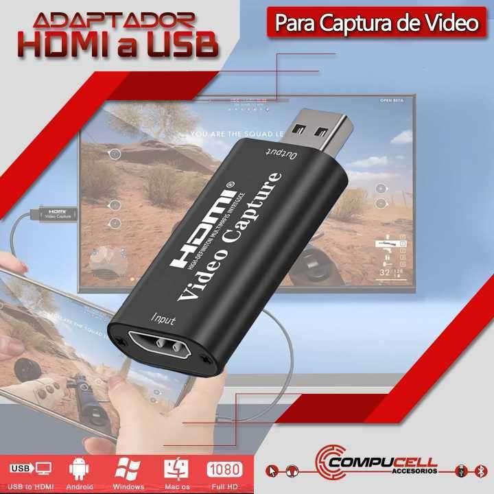 Capturador de vídeo HDMI 1080p de baja latencia - 0