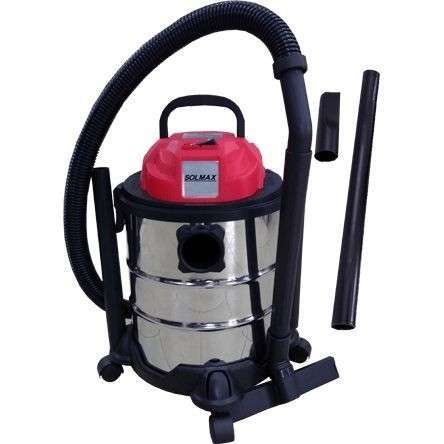 Aspiradora p/ polvo y agua 20L 1200W Solmax - 0