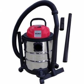 Aspiradora p/ polvo y agua 30L Solmax