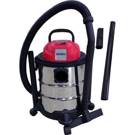 Aspiradora p/ polvo y agua 30L Solmax - 0