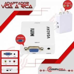 Adaptador VGA a RCA o AV
