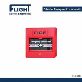 Pulsador de emergencia incendio COD. 6006