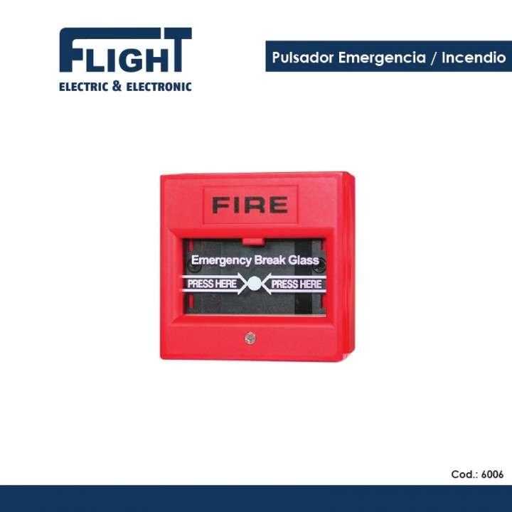 Pulsador de emergencia incendio COD. 6006 - 0