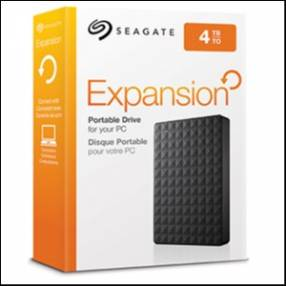 Disco duro externo Seagate 4TB