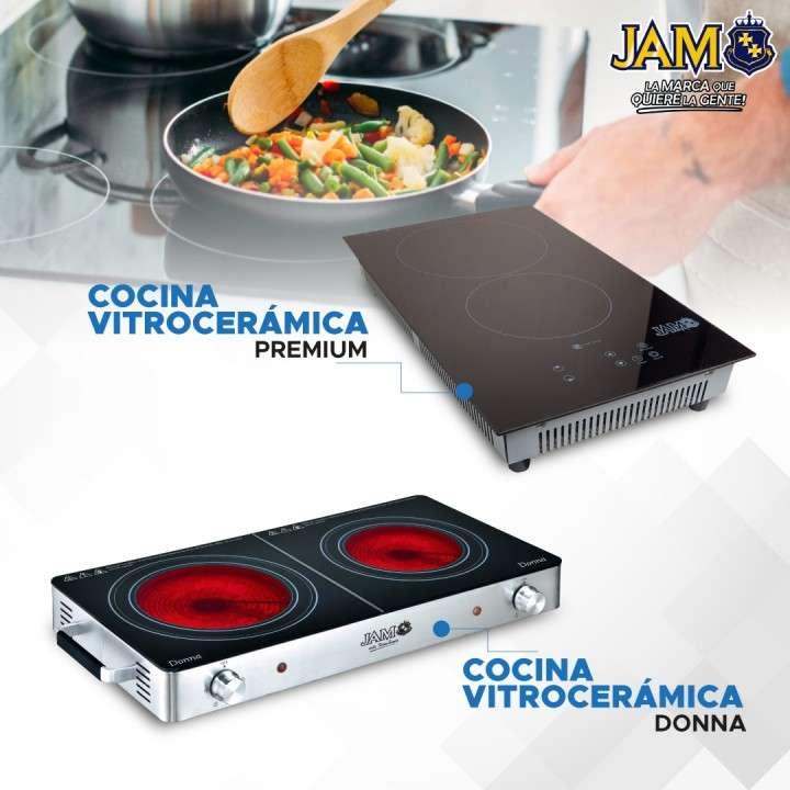 Cocina JAM 2H Vitrocerámica MOD.400VC 3.000W - 0
