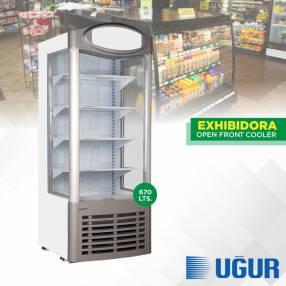 Exhibidora abierta Ugur UMD AS Open Front Cooler 670L