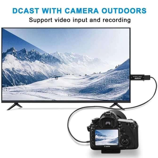 Capturador de vídeo HDMI 1080p de baja latencia - 1