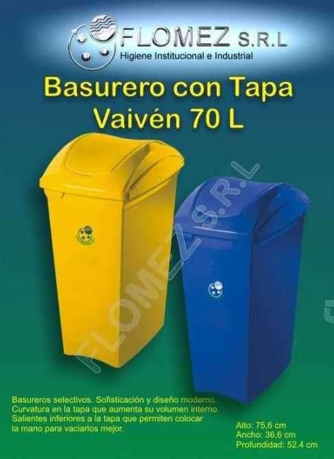 Basureros de plástico - 0