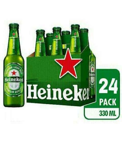 Cerveza Heineken 24 unidades de 330 ml - 0