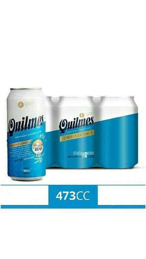 Cerveza Quilmes 24 unidades de 473 cc - 0