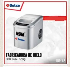 Fabricadora de hielo 12 kg