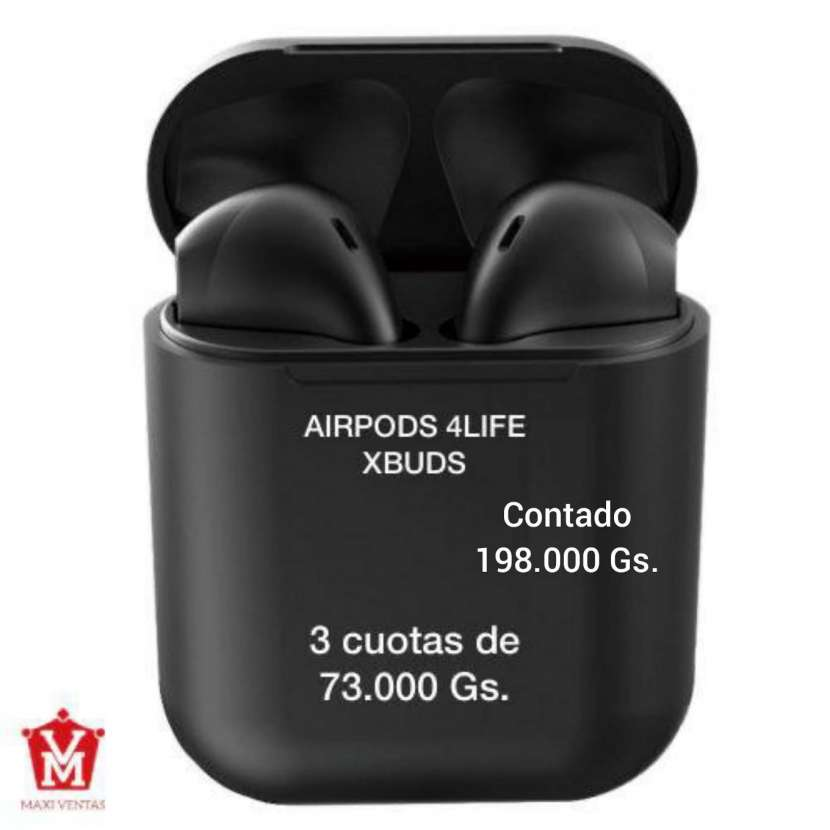 Airpods 4life Xbuds negro - 0