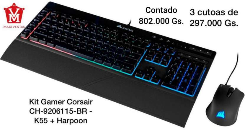 Kit gamer Corsair - 0