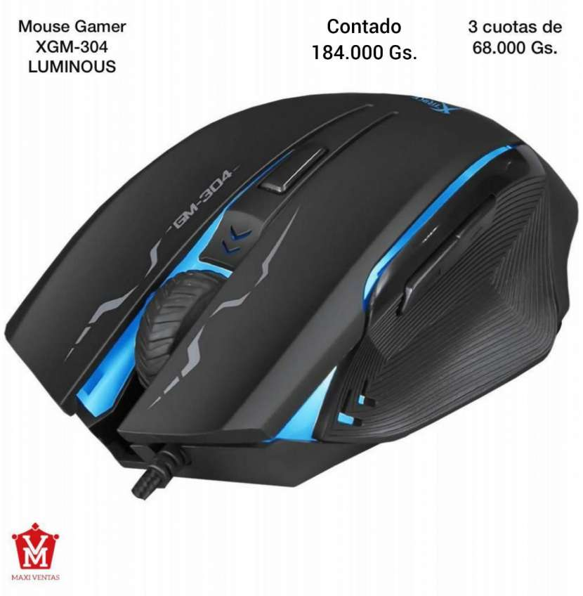Mouse Gamer XGM-304 - 0
