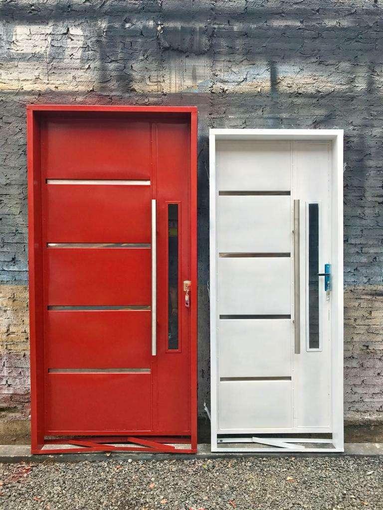 Puertas metálicas para el hogar - 0