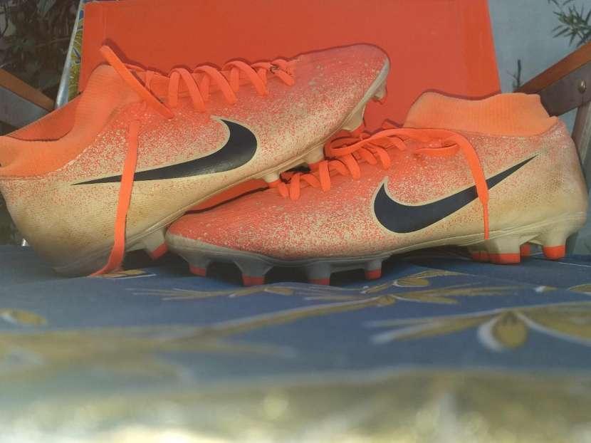 Botín Nike Mercurial naranja calce 39 br - 0