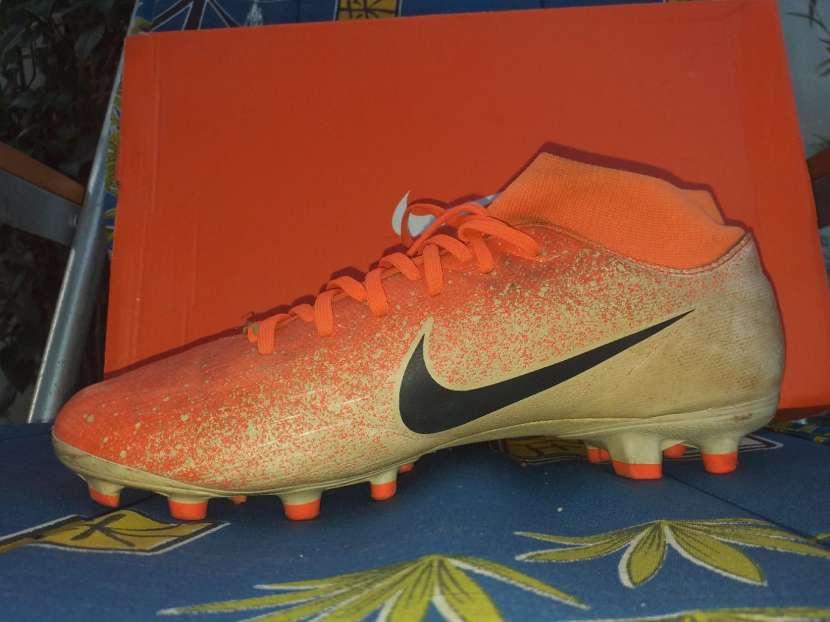 Botín Nike Mercurial naranja calce 39 br - 3